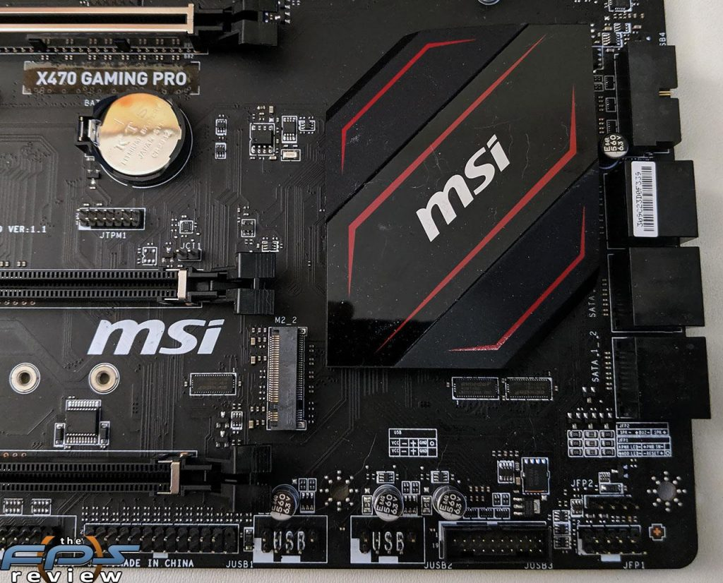MSI X470 GAMING Pro Motherboard Review - The FPS Review