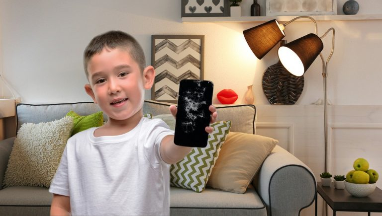 Super Tough Smart Phone Gets Owned by Toddler in 3 Seconds!