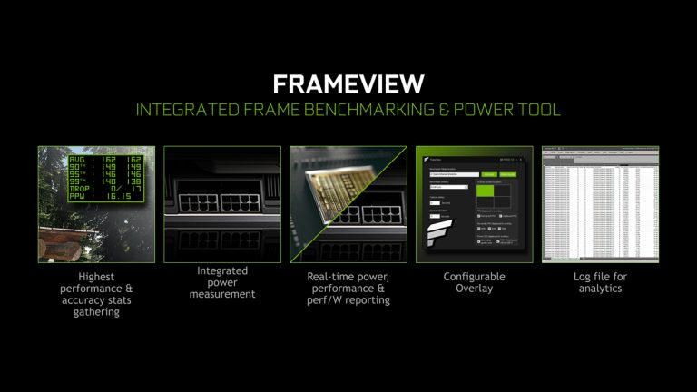 NVIDIA Releases FrameView, a Free Performance and Power Benchmarking App