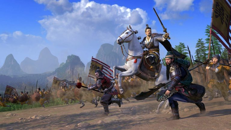 Linux Total War Three Kingdoms Massive Benchmark