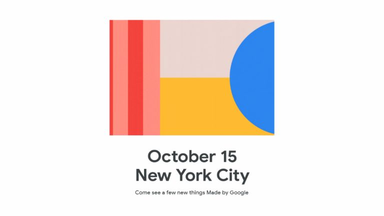 Google Will Unveil the Thoroughly-Leaked Pixel 4 on October 15 in NYC