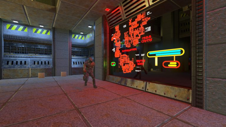 Quake II RTX v1.2 Update Improves over 400 Textures, Rendering of Metals and Water