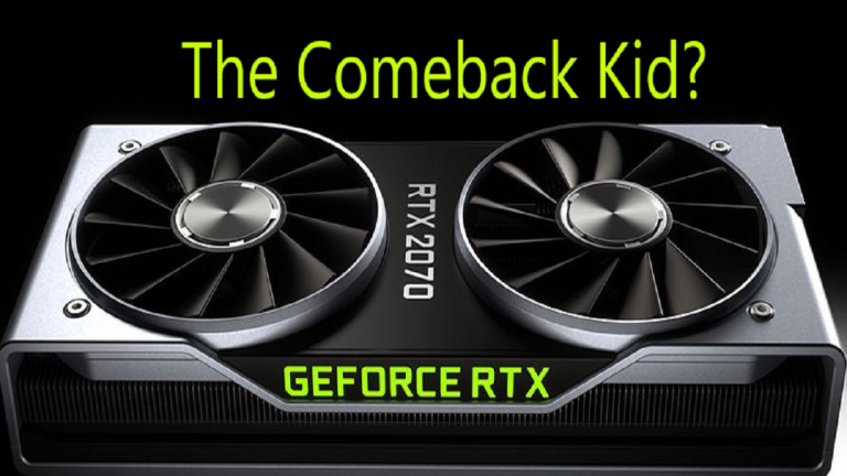 Will Nvidia's RTX 2070 Be Making a Comeback?