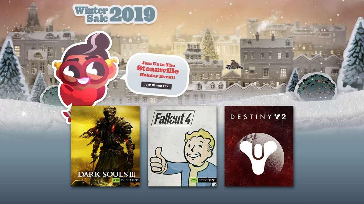 steam winter 2019 sale is live the fps review. Black Bedroom Furniture Sets. Home Design Ideas