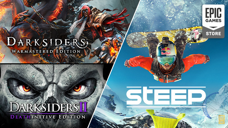 "Get Your Free Copies of ""Darksiders,"" ""Darksiders II,"" and ""Steep"" on the Epic Games Store"